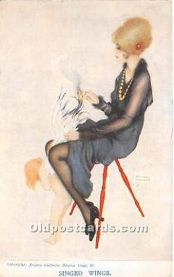 xrt096241 - Artist Raphael Kirchner Old Vintage Postcard