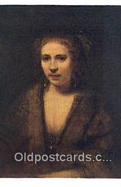 Rembrandt Harmensz Van Rijn Art Postcards Post Card