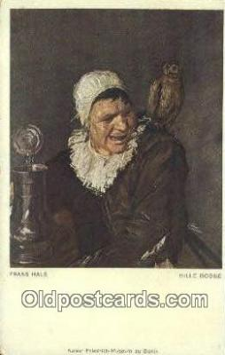 Frans Hals - Hille Bobbe Art Postcards Post Card