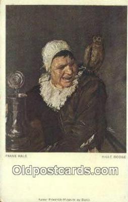 xrt100105 - Frans Hals - Hille Bobbe Art Postcards Post Cards Old Vintage Antique