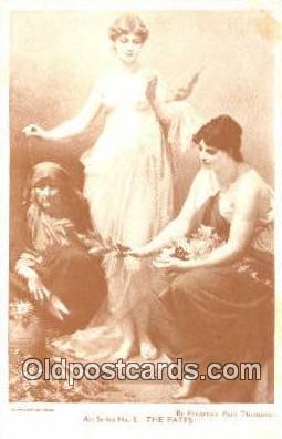 Frederick Paul Thumann Art Postcards Post Card