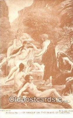 Lionel Royer Art Postcards Post Card