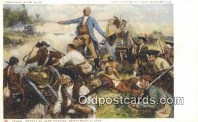 xrt100117 - Painting by Yohn - Glenn Falls Insurance Co. Art Postcards Post Cards Old Vintage Antique
