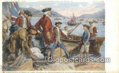 Painting by Yohn - Glenn Falls Insurance Co. Art Postcards Post Card