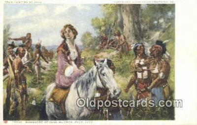 xrt100119 - Painting by Yohn - Glenn Falls Insurance Co. Art Postcards Post Cards Old Vintage Antique