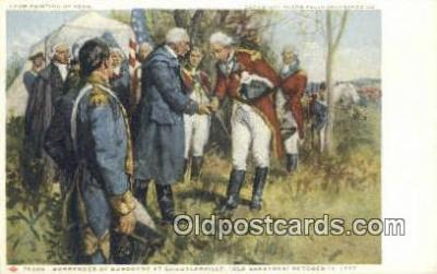 xrt100120 - Painting by Yohn - Glenn Falls Insurance Co. Art Postcards Post Cards Old Vintage Antique
