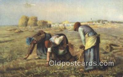 Jean Francois Millet Art Postcards Post Card