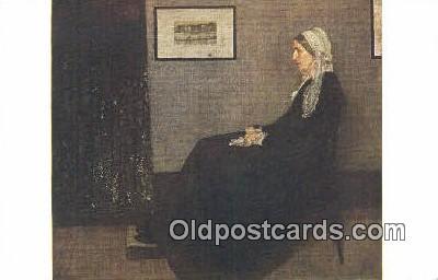 J. M. N. Whistler Art Postcards Post Card