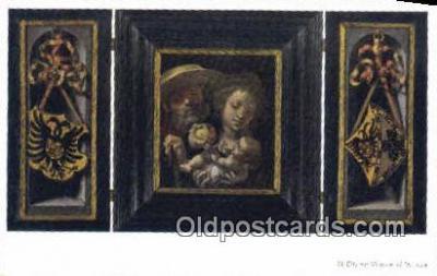 xrt100150 - Jan Gossaert - Mabuse Art Postcards Post Cards Old Vintage Antique