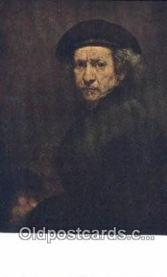Rembrandt - Self Portrait Art Postcards Post Card