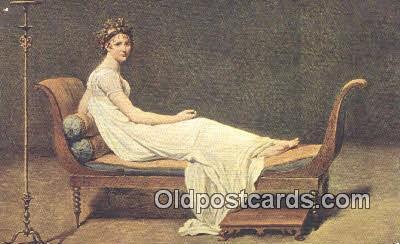 xrt100197 - Jacques Louis David Art Postcards Post Cards Old Vintage Antique