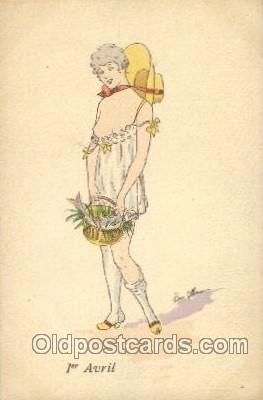 Artist Rene Gillis, Postcard Post Card