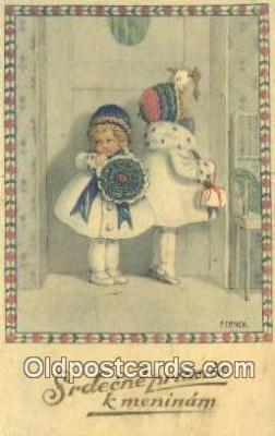 xrt127004 - Erika Series no 1075 Artist Ebner, Paul Postcards Post Cards Old Vintage Antique