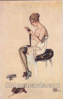 Artist G. Leonnec, Postcard Post Card