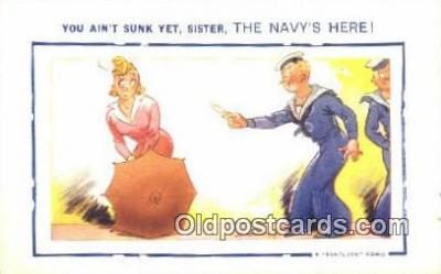 Series N-1 Artist Tempest, Douglas Postcards Post Card