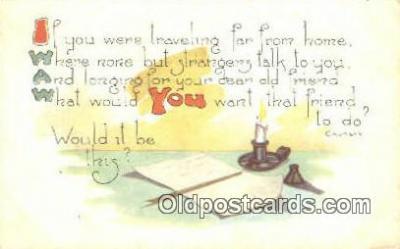 xrt149067 - Artist Frederick Cavally Postcard Post Card Old Vintage Antique Series # 5487