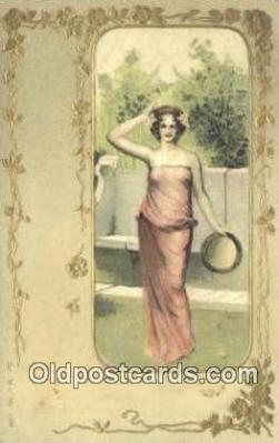 Ser M.C. No 1303 Art Nouveau Postcard Post Card