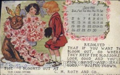 Artist R.F. Outcaust, Postcard Post Card