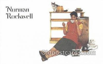 xrt155013 - Artist Norman Rockwell Postcards Post Cards Old Vintage Antique
