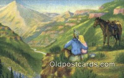 xrt184138 - No. 10 Artist L.H. Larson Postcards Post Cards Old Vintage Antique