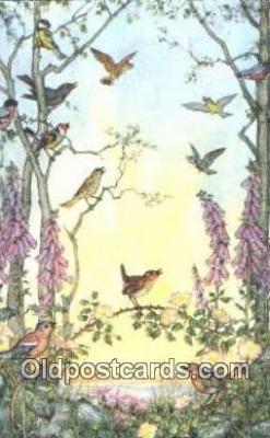 xrt193003 - Artist Molley Britt Postcard Post Card Old Vintage Antique Series # pk 380