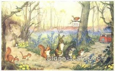 xrt193015 - Artist Molley Britt Postcard Post Card Old Vintage Antique Series # pk 272