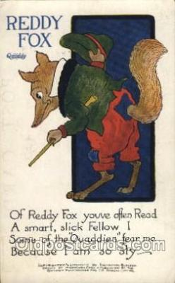 Artist Harrison Cady Quaddy  Postcard Post Card