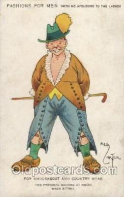 Artist Reg Carter, Postcard Post Card