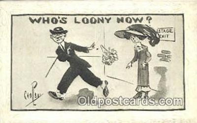 xrt215015 - Artist Percy Crosby Postcard Post Card Old Vintage Antique Series #