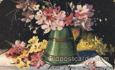 xrt233009 - Artist Signed Mary Golay Postcard Postcards