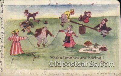 xrt256026 - Artist Signed Paul C. Kober,  P.C.K. Postcard Postcards