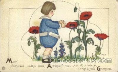 Artist Margaret Evans Price, Postcard Post Card