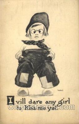 xrt269071 - Artist Signed Bernhardt Wall, Postcard Postcards