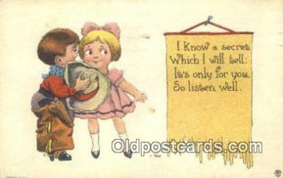 xrt269131 - Artist Bernhardt Wall Postcard Post Card Old Vintage Antique