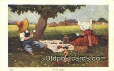 xrt269138 - Artist Bernhardt Wall Postcard Post Card Old Vintage Antique