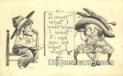 Artist Wall, Bernhardt Postcard Post Card