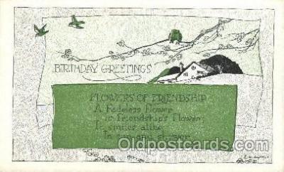 xrt272013 - Artist Signed Weaver, Postcard Postcards