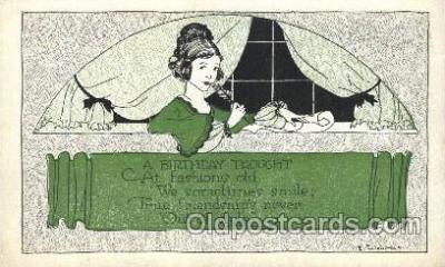 xrt272019 - Artist Signed Weaver, Postcard Postcards