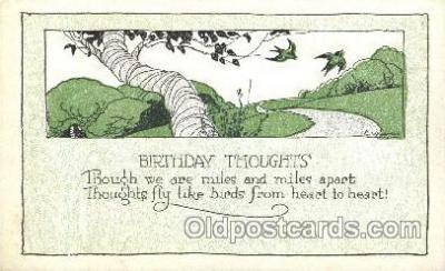 xrt272020 - Artist Signed Weaver, Postcard Postcards