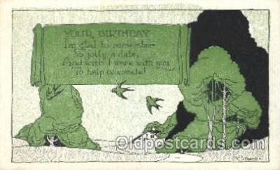 xrt272026 - Artist Signed Weaver, Postcard Postcards
