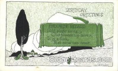 xrt272028 - Artist Signed Weaver, Postcard Postcards