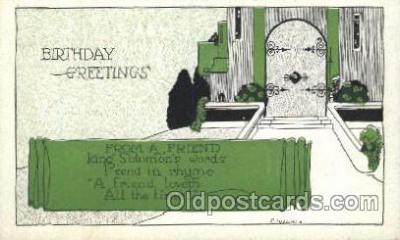 xrt272031 - Artist Signed Weaver, Postcard Postcards