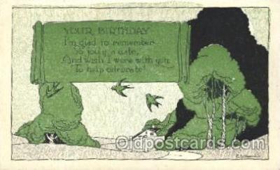 xrt272038 - Artist Signed Weaver, Postcard Postcards