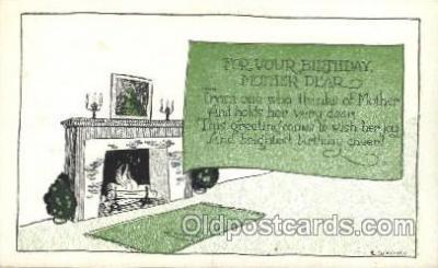 xrt272042 - Artist Signed Weaver, Postcard Postcards