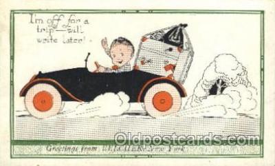 xrt272055 - Artist Signed Weaver, Postcard Postcards