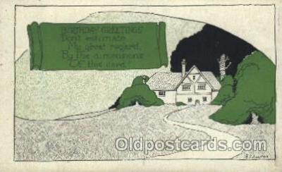 xrt272057 - Artist Signed Weaver, Postcard Postcards