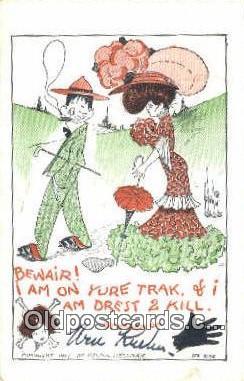xrt273067 - Artist Wellman, Walter Postcard Post Card Old Vintage Antique