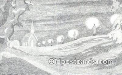 xrt278017 - Artist Ann Adams Postcard Post Card Old Vintage Antique