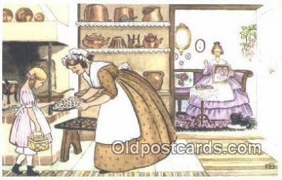 xrt280002 - Artist Elsa Beskow Postcard Post Card Old Vintage Antique Series # 2