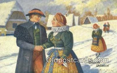 xrt283006 - Artist Konst Busek Postcard Post Card Old Vintage Antique